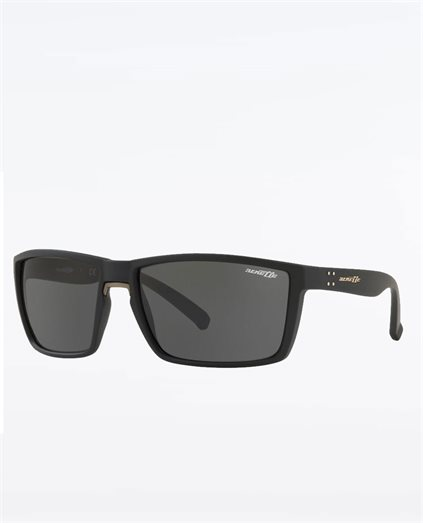 Prydz Black Rubber Grey Sunglasses