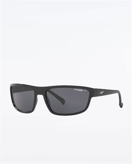 Borrow Black Polarised Grey Sunglasses