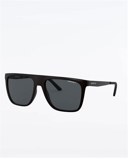 Chapinero Matte Black Polarised Grey Sunglasses