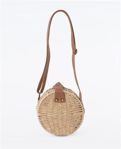 Straw Round Sand Bag