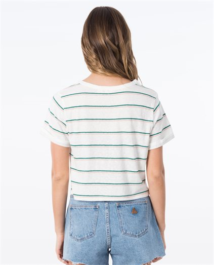 Go With You Stripes Tee