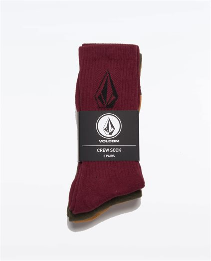 Full Stone Sock Size 7-11 3PK