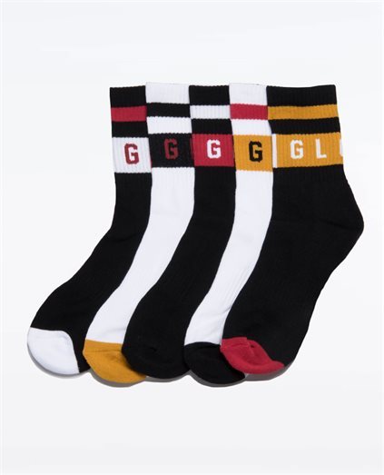 Block Wrap Sock 5 PK