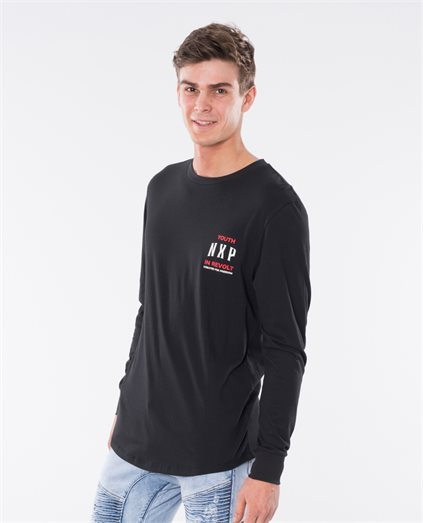 Vector Cape Back Long Sleeve T-Shirt