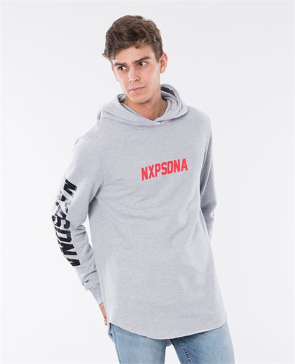 Halcon Hooded Baseball Sweater