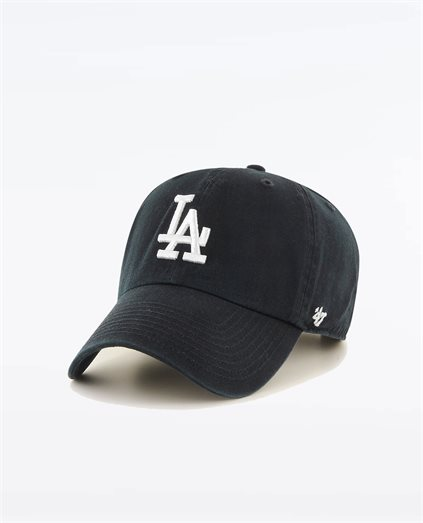 LA Dodgers Black White 47 Cap