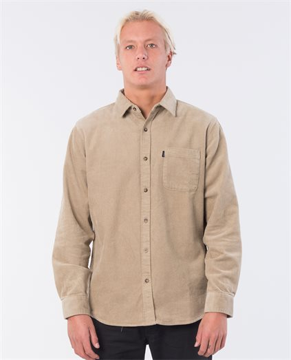 Cord Latch Long Sleeve Shirt