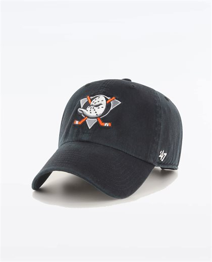 Anaheim Ducks Black 47 Clean Up