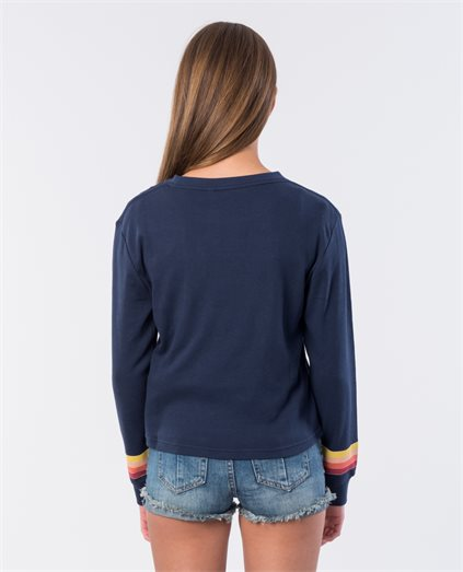 Girls Keep On Surfin Long Sleeve Top
