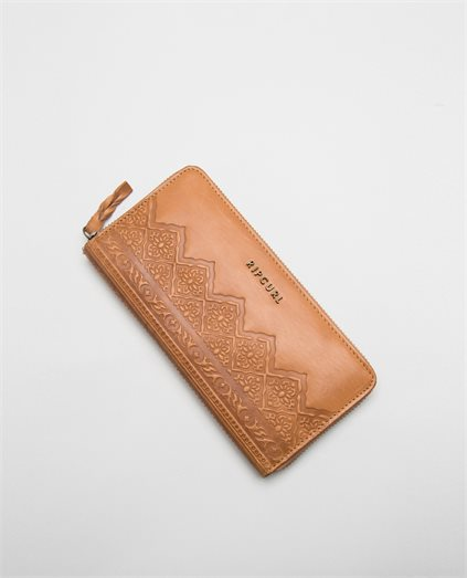 Spice Temple RFID Leather Wallet