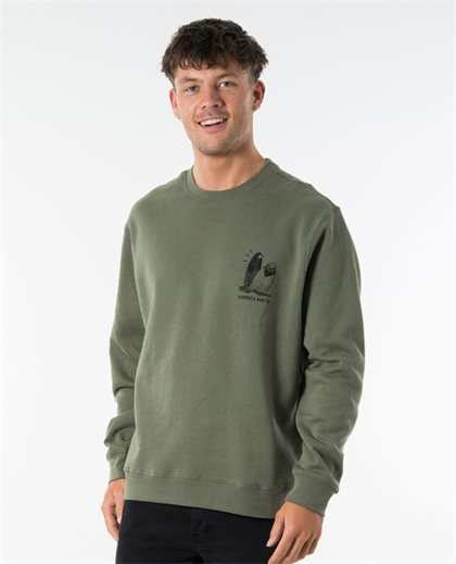 Stone Crew Neck Sweat