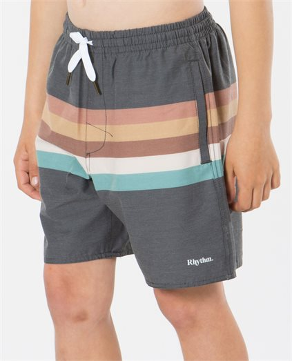 Retro Strip Beach Short