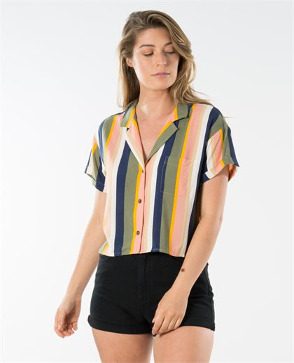 Ivy Button Front Shirt