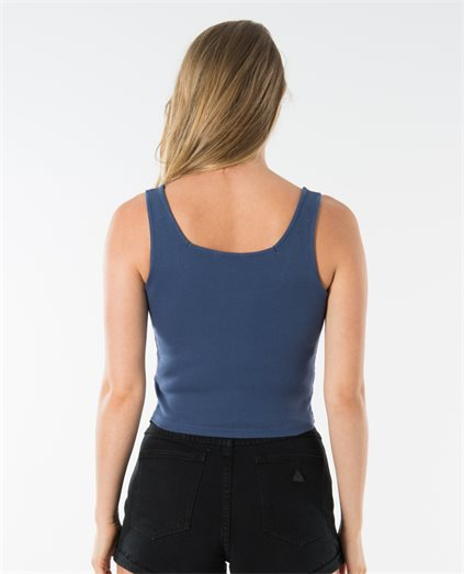Ashley Rib Square Neck Singlet