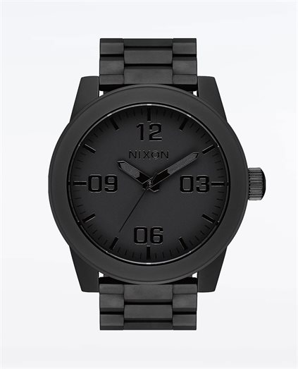 Corporal Stainless Steel All Matte Black Watch