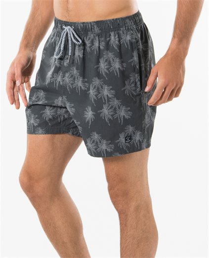 Palm Print Volley Short