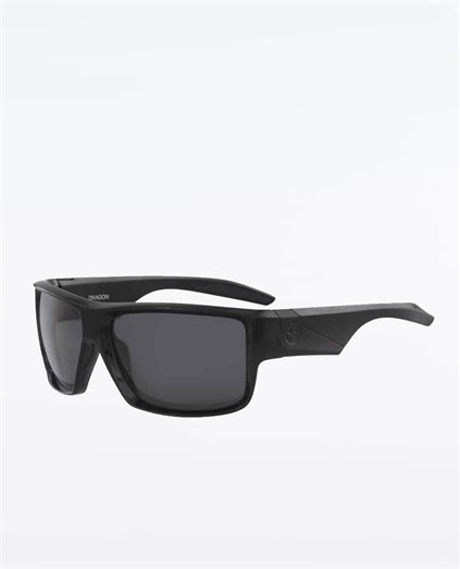 Deadlock Shiny Black Smoke Polarised Sunglasses