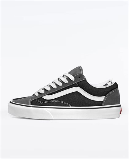 Style 36 Pewter Black Shoes