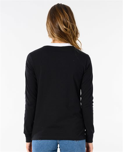 3 Str Long Sleeve Top