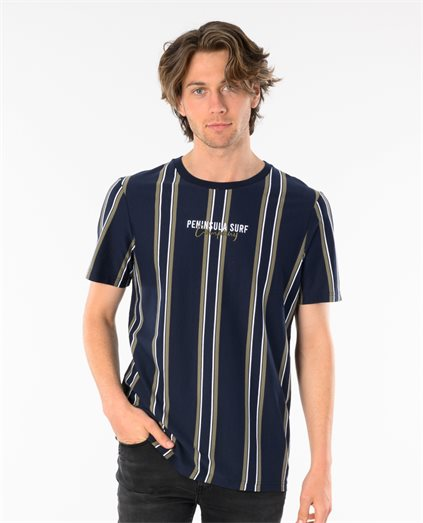 Pipeline Stripe Tee