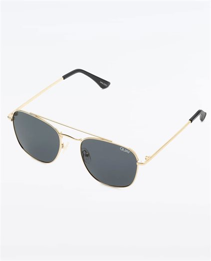 Helios Gold Smoke Sunglasses