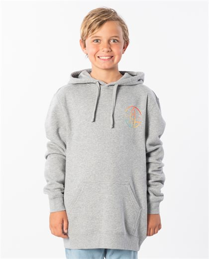Wave Rider Hooded Sweat Top