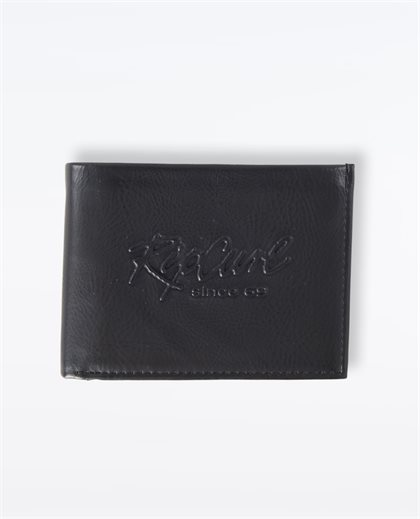Beach Script PU All Day Wallet
