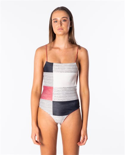 Open Road Reversible Cheeky Coverage One Piece Swimsuit