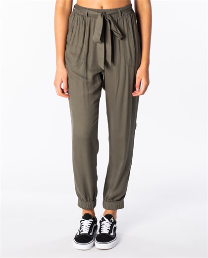 Belted Jogger Pant