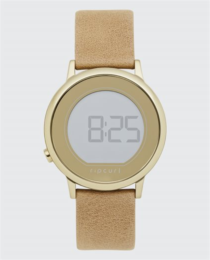 Daybreak Digital Leather Watch