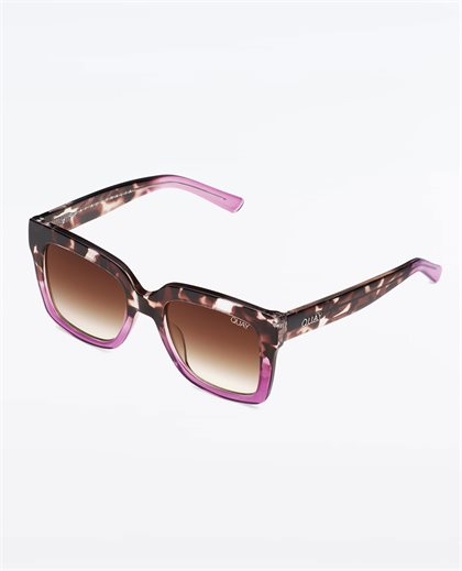 Quay Icy Tort Puple/Brown