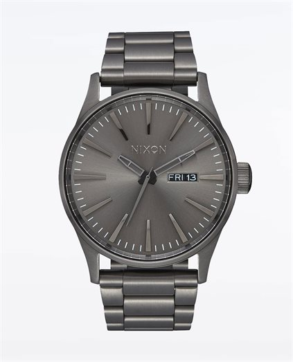 Sentry Stainless Steel All Gunmetal Watch