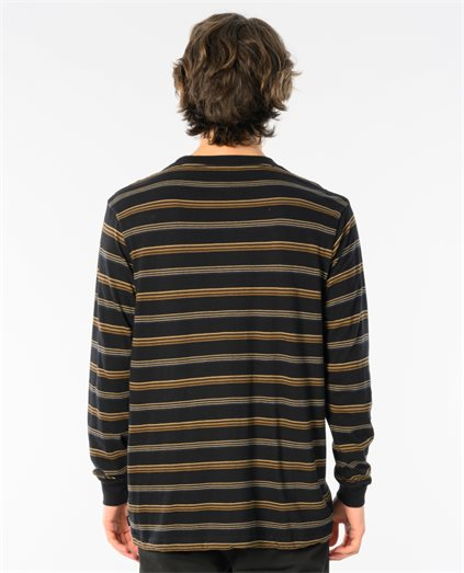 Merc Stripe Long Sleeve Tee