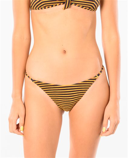 Bondi Stripe French Bikini Pant