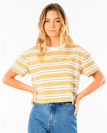 Crossbar Crop Short Sleeve Tee