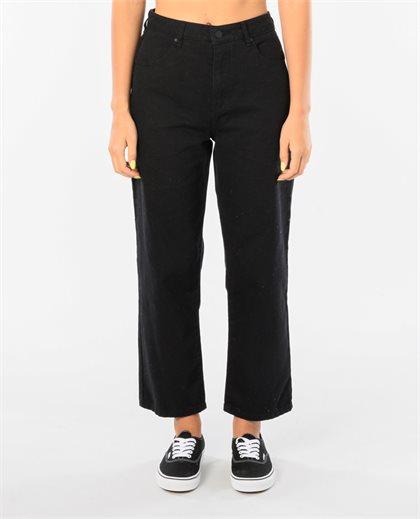 Shelby Twill High Waist Leg Jeans