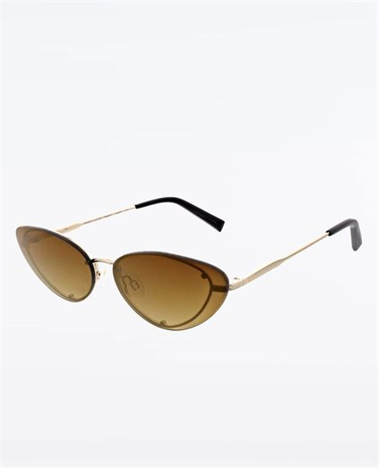 Trinity Shiny Light Gold Sunglasses