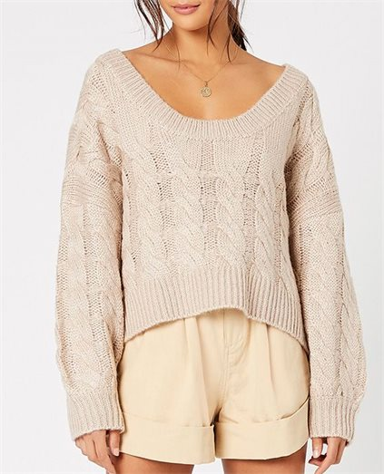 Genevieve Cable Knit Jumper