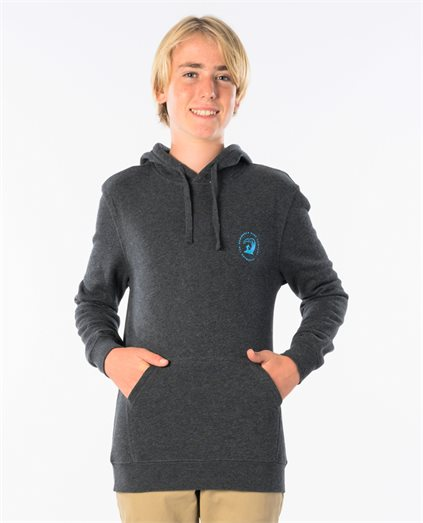 Waves Long Sleeve Hooded Fleece