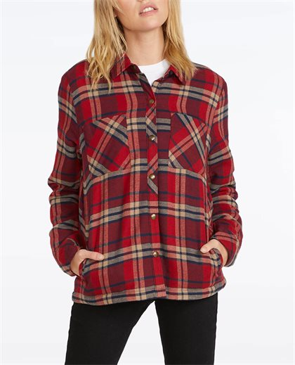 Plaid About You L/S