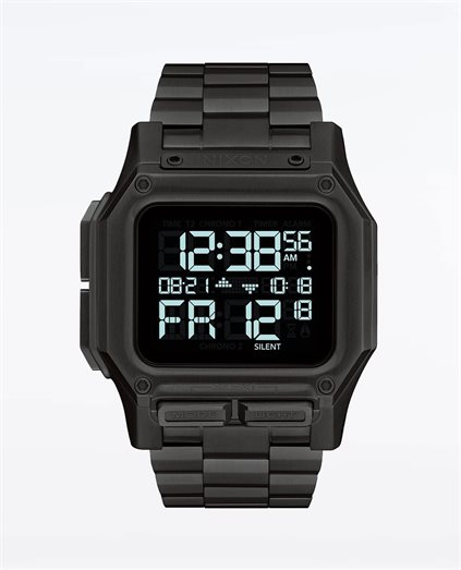 Regulus Stainless Steel All Black Watch