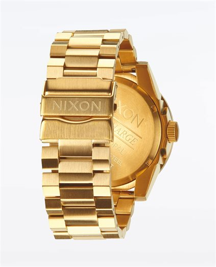 Corporal Stainless Steel Gold Blue Sunray Watch