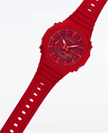 G-Shock Carbon Core Guard Red Watch