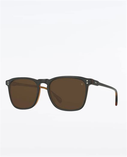 Wiley Black and Tan 54 Sunglasses