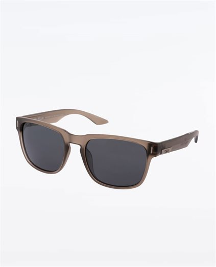 Spartan Matte Grey Smoke Sunglasses