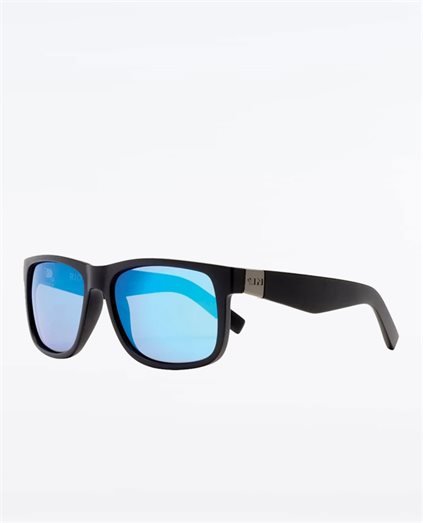 Riot Matte Black Blue Sunglasses