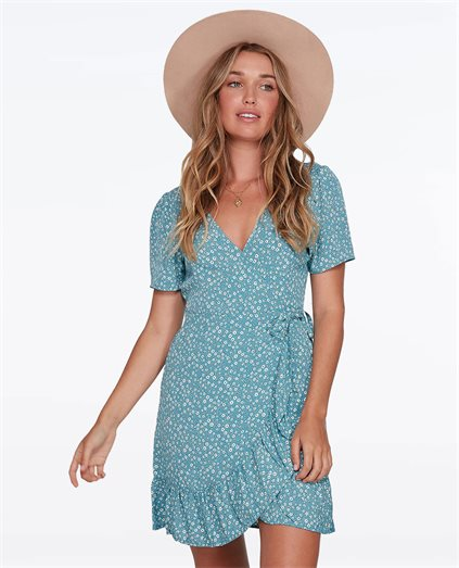Bluesday Wrap Dress