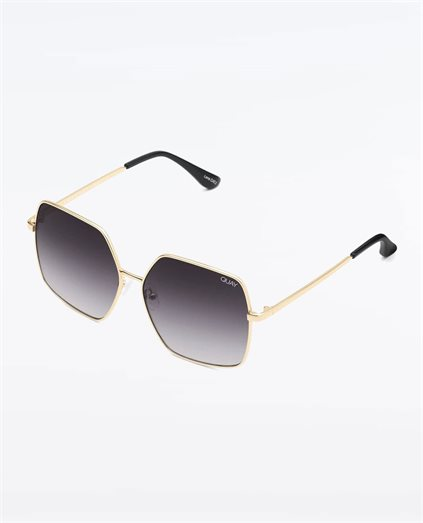 Backstage Gold Smoke Sunglasses