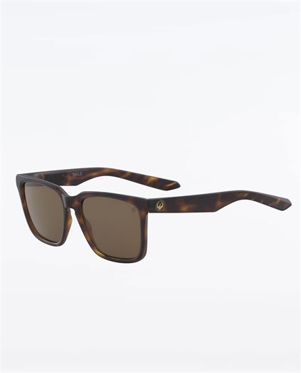 Baile Matte Dark Tortoise Brown Polarised Sunglasses