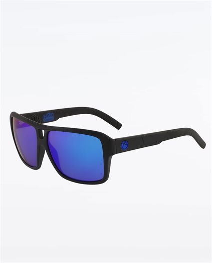 Dr Sp The Jam Matte Black H20 Blue Sunglasses